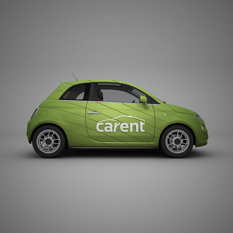 CaRent International - Vehicle Wrapping